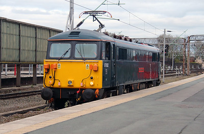 8) 87 002 at Crewe on 18th April 2016