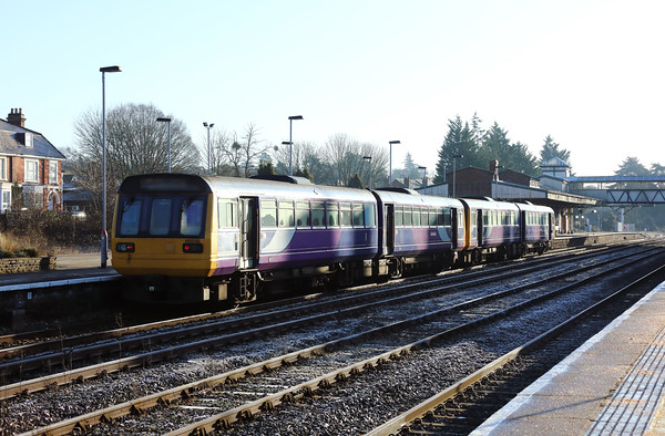 142 046 at Hereford on 21st January 2020